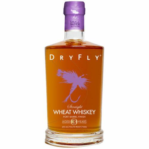 Dry Fly Port Barrel Finish Straight Wheat Whiskey 750ml