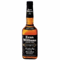 Evan Williams Black Label Kentucky Straight Bourbon Whiskey 750ml