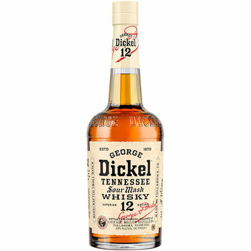 George Dickel No.12 Tennessee Sour Mash Whisky 750ml Rated 3BTI BEST BUY