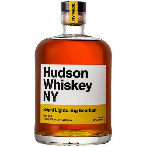 Hudson Whiskey NY Bright Lights Big Bourbon Whiskey 750ml
