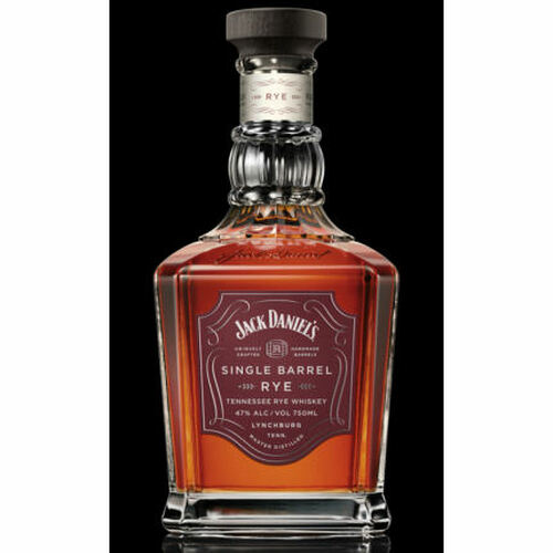 Jack Daniel's Single Barrel Tennessee Rye Whiskey 750ml
