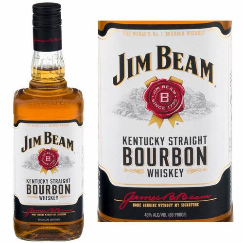 Jim Beam Kentucky Straight Bourbon Whiskey 750ml