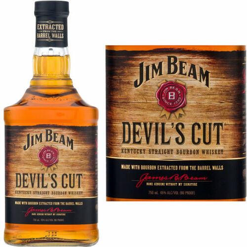 Jim Beam Devil's Cut Bourbon 750ml