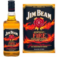 Jim Beam Kentucky Fire Cinnamon Liqueur 750ml