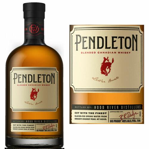 Pendleton Blended Canadian Whisky 750ml