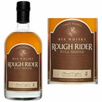 Rough Rider Bull Moose Rye Whisky 750ml