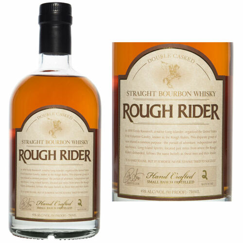 Rough Rider Double Casked Straight Bourbon Whisky 750ml