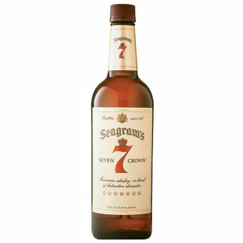 Seagram's 7 Crown Blended Whiskey 750ml