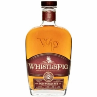 WhistlePig 12 Year Old World Straight Rye Whiskey 750ml