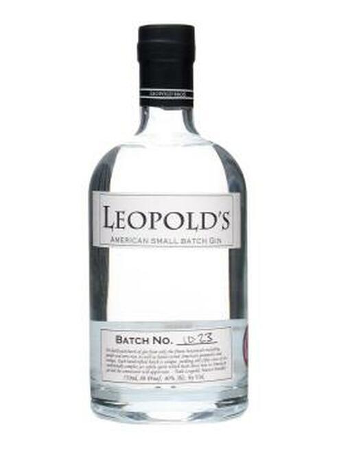 Leopold Bros. American Small Batch Gin 750ml VERY GOOD-WSJ