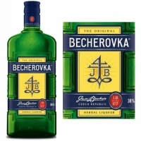 Carlsbad Becherovka Herbal Liqueur Czech Republic 750ml