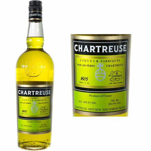 Chartreuse Yellow Liqueur 750ml France