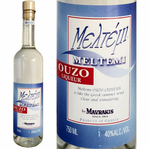 Mediterranean Kitchen Mastic: Meltemi Ouzo Greek Liqueur 750ml