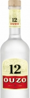 Ouzo 12 Liqueur Greece 750ml