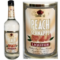 Potter's Peach Schnapps Liqueur US 1L