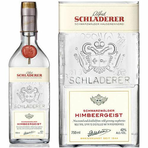 Schladerer Himbeergeist Black Forest Raspberry Brandy 750ml