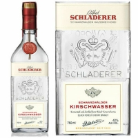 Schladerer Schwarzwalder Kirschwasser Black Forest Cherry Brandy 750ml