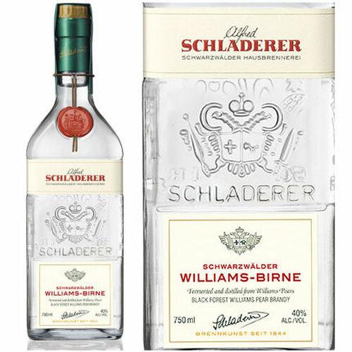 Schladerer Williams Birne Black Forest Pear Brandy 750ml