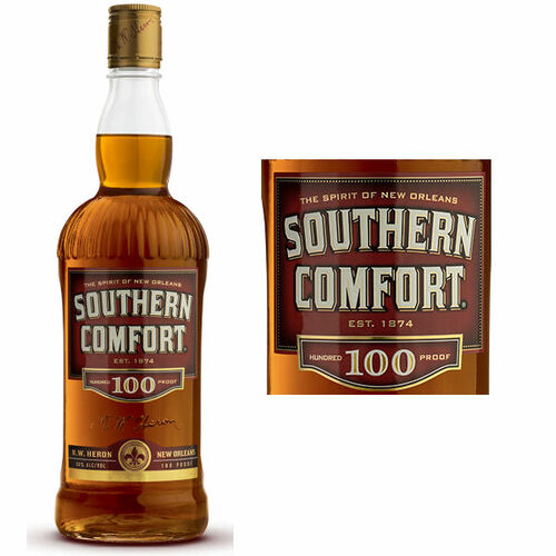 Southern Comfort Whiskey Liqueur 100 Proof 750ml