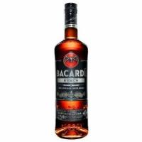 Bacardi Black Rum Puerto Rico 750ml