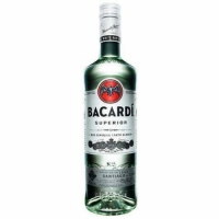 Bacardi Superior Rum Puerto Rico 750ml