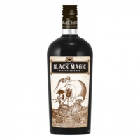 Black Magic Black Spiced Rum 750ml