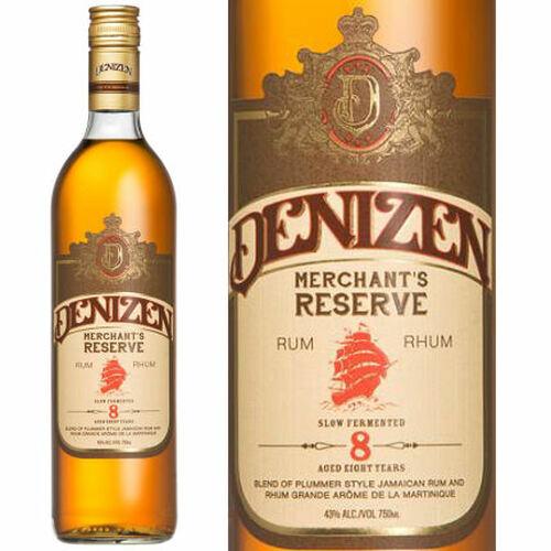 Denizen Merchant's Reserve 8 Year Old Rum 750ml