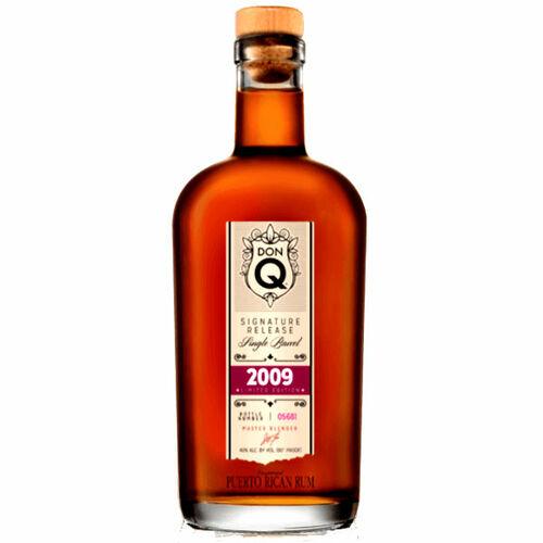 Don Q 2009 Signature Release Single-Barrel Rum 750ml