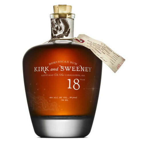 Kirk and Sweeney 18 Year Old Dominican Rum 750ml