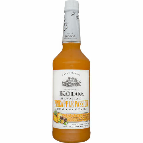 Koloa Hawaiian Pineapple Passion Rum Cocktail 1L