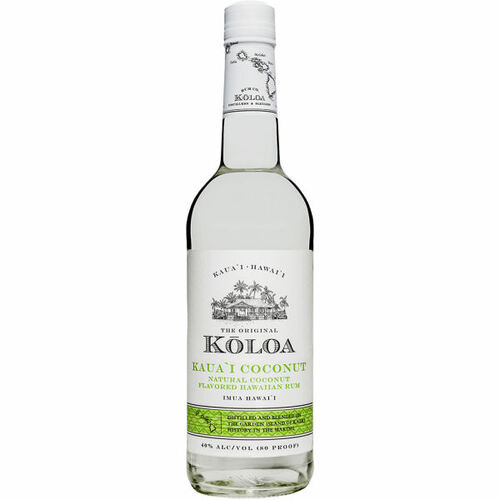 Koloa Kauai Coconut Hawaiian Rum 750ml