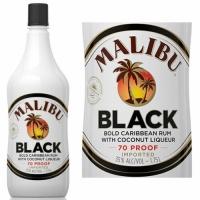 Malibu Black Rum 750ml