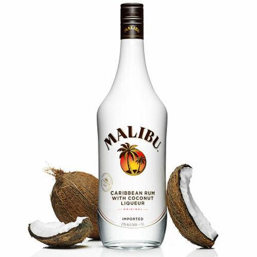 Malibu Original Caribbean Rum With Coconut Liqueur 1L