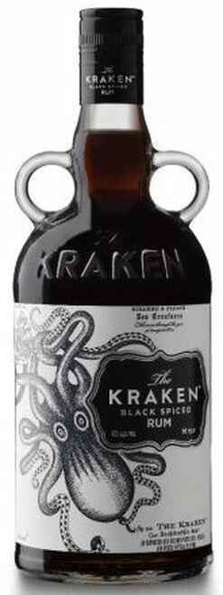 The Kraken Black Spiced Caribbean Rum 750ML
