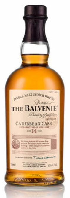 Balvenie 14 Year Old Caribbean Rum Cask Single Malt Scotch 750ml