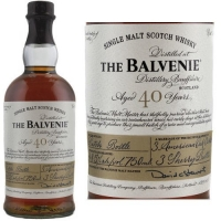 Balvenie 40 Year Old Batch 7 Speyside Single Malt Scotch 750ml