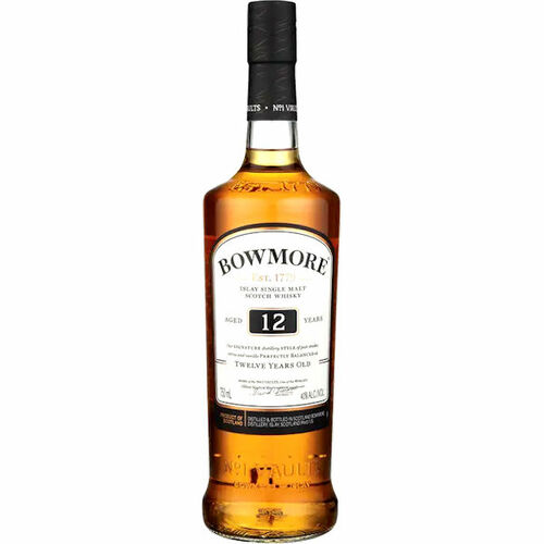 Bowmore 12 Year Old Islay Single Malt Scotch 750ml