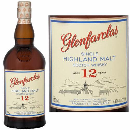 Glenfarclas 12 Year Old Highland Single Malt Scotch 750ml