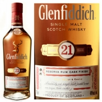 Glenfiddich Reserva Rum Cask Finish 21 Year Old Speyside Single Malt Scotch 750ml
