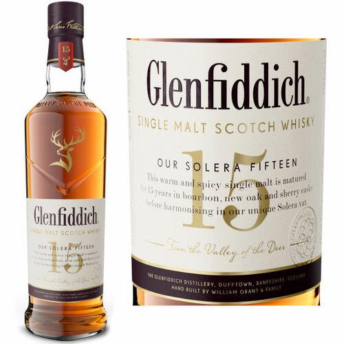 Glenfiddich Our Solera 15 Year Old Speyside Single Malt Scotch 750ML
