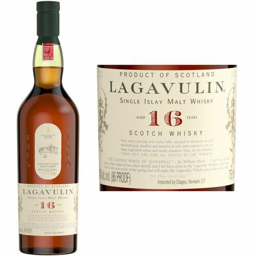 Lagavulin 16 Year Old Islay Single Malt Scotch 750ml