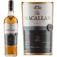 Macallan 21 Year Old Fine Oak Single Malt Scotch 750ml Rated 96-100WE