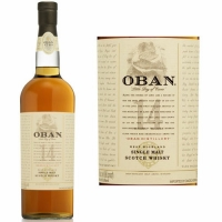 Oban 14 Year Old Highland Single Malt Scotch 750ml Rated 89