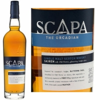 Scapa The Orcadian Skiren Single Malt Scotch 750ml