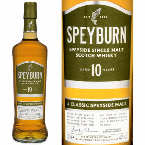Speyburn 10 Year Old Speyside Single Malt Scotch 750ml