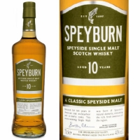 Speyburn 10 Year Old Speyside Single Malt Scotch 750ml