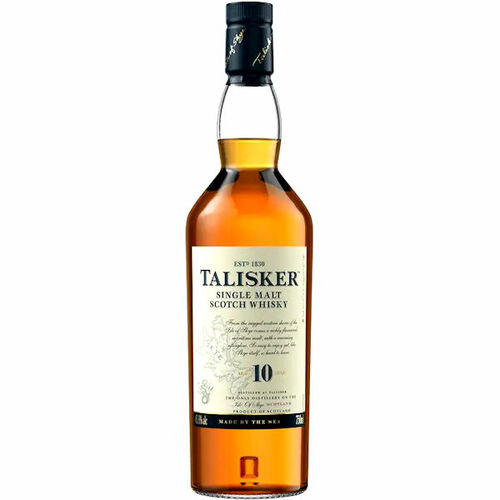 Talisker 10 Year Old Isle of Skye 750ml Rated 89
