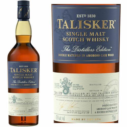 Talisker 2020 Distiller's Edition Skye Single Malt Scotch 750ml
