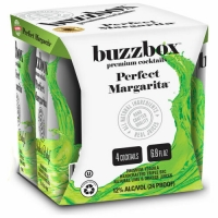 Buzzbox Perfect Margarita Cocktails 200ml 4 Pack