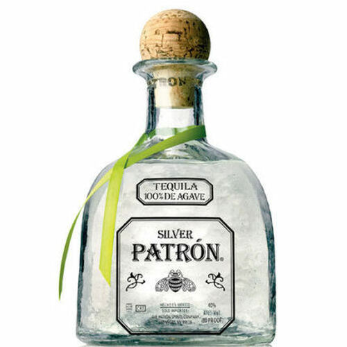 Patron Silver Tequila 375ml Half Bottle
